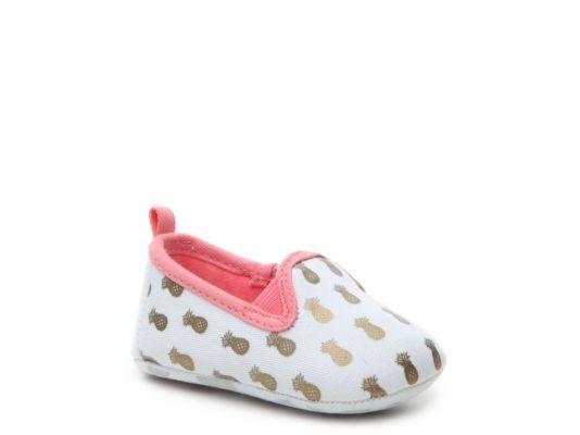 Women's Rosie Pope Pineapple Mania Girls Infant Flat - White