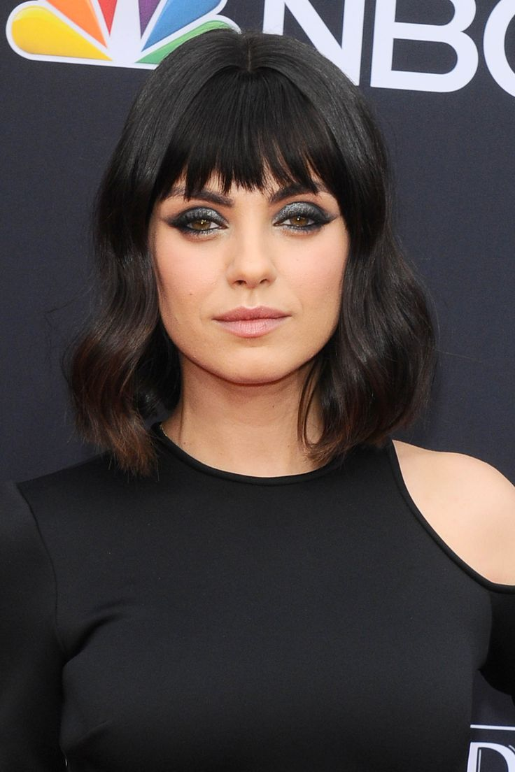 28 Long Bob with Bangs Hairstyles For 2019 in 2020 | Long bob with bangs, Hairstyles with bangs ...