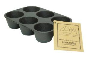 Old Mountain Cast Iron Preseasoned Muffin Pan 6 Impression-0166-10122 by IWGAC. $13.72. Returns for any reason other than damaged or defective will have a 20% restocking fee and return shipping fees will not be refunded. All return claims must be initiated within 15 business days of receipt of the order. Old Mountain Cast Iron Cookware