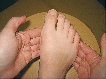 Jalkaterän etuosan poikittaisen kaaren hahmottaminen ja liikkuvuuden lisääminen