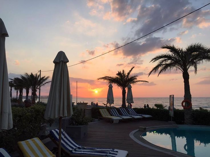 Pearlhotels Τοp Guest Photo of the Week contest - Week to 19/7/2015 (GPOW3) - **WINNER** Sharona Coomans. Title: ''Lovely Sunset at the Pool of Sentido Aegean Pearl''. https://www.facebook.com/SentidoPearlBeach/photos/pcb.855857491128579/855855697795425/?type=1