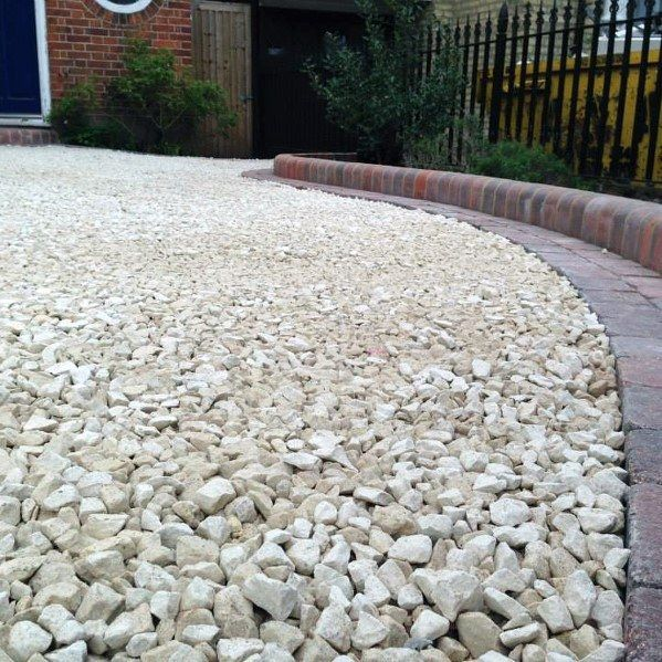 Top 60 Best Gravel Driveway Ideas Curb Appeal Designs Gravel