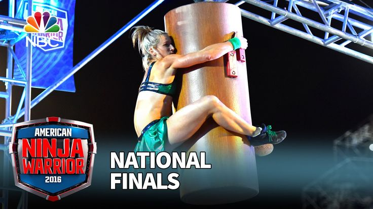 First Woman to Complete Stage 1 of American Ninja Warrior - Jessie Graff at the National Finals: Stage 1 - American Ninja Warrior 2016
