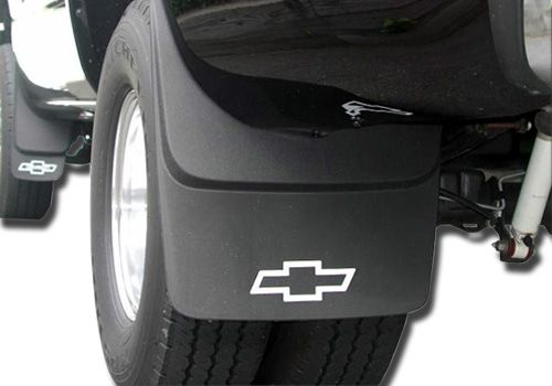Chevy Silverado Accessory - GM OEM Chevy Silverado Contoured Mud Flaps Reg