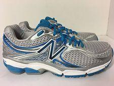 New Balance Women's W1340 Optimal Control Silver/Blue Running Shoe Sz 9 US