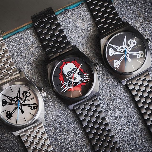 Paying respect to the skateboarding culture that has influenced our roots from the beginning, we've partnered with industry pioneer @powellperalta on a limited edition watch capsule. Available at selected retailers only, find the closest shop at Nixon.news/powell_p