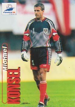 1998 Panini World Cup #5 Michael Konsel Front