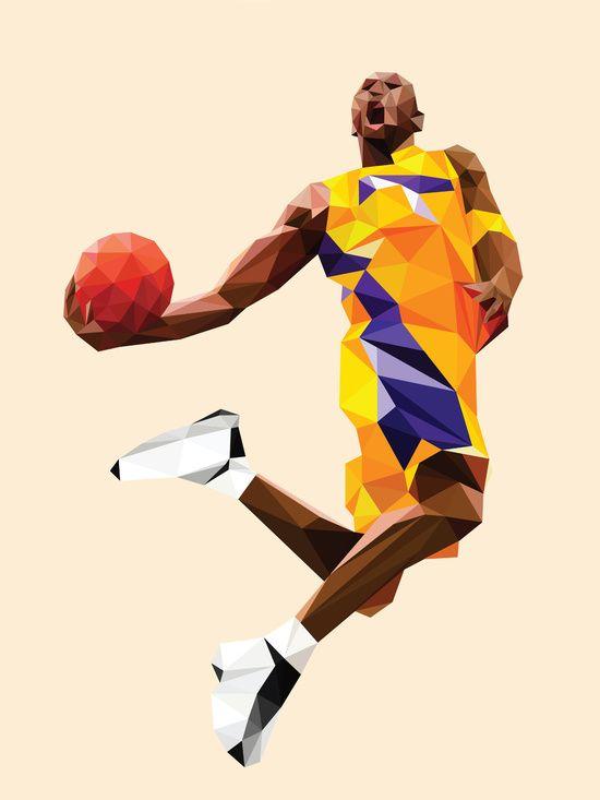 Kobe Bryant by Roland Banrevi