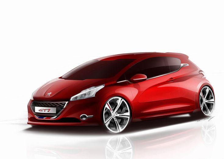 Peugeot 208 GTI configuration - http://autotras.com