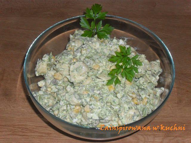 Zainspirowana w kuchni               : Sałatka brokułowa z tortellini