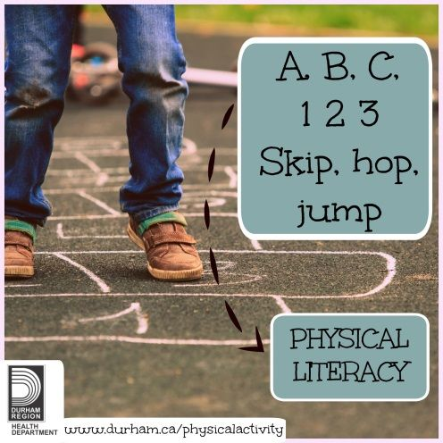 Teaching your child to read and write is fundamental to their learning. Teaching your child to develop physical literacy skills is essential for a healthy and active life.  They are the building blocks to help your child have the confidence to take part in a variety of active games and sports.  Try these active game ideas to get started.