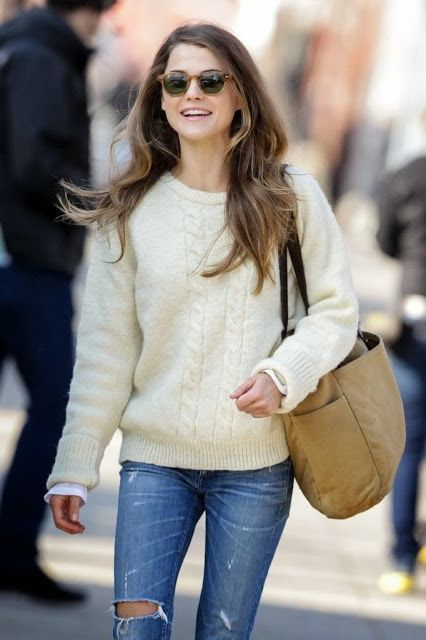 Style Guide: Keri Russell - College Prep