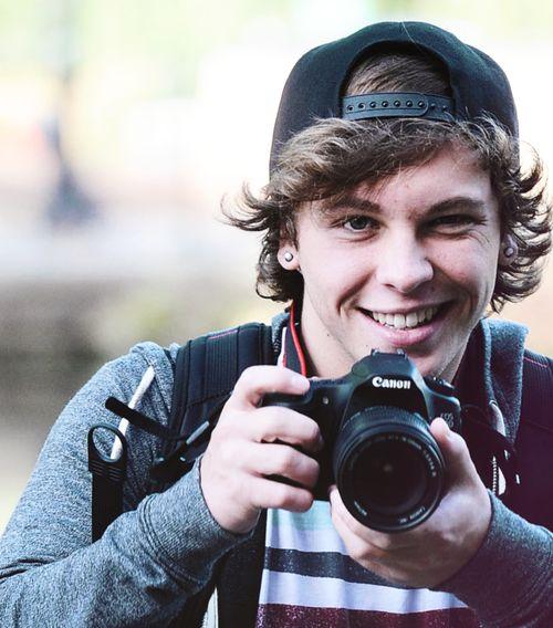 Keaton Stromberg.... Guys who are into photography > boys who AREN'T into photography. :)