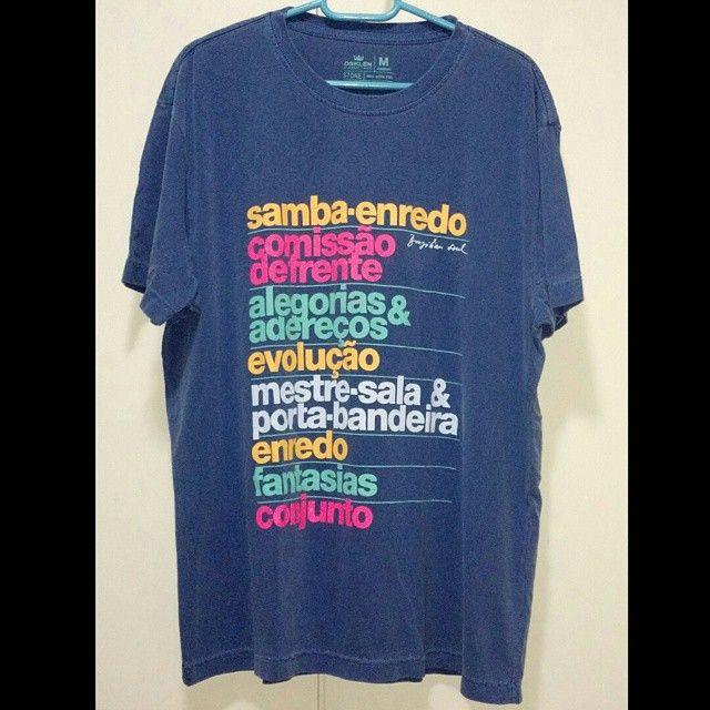 """Chegou  Camisa Osklen """"Quesitos""""  Nas lojas 147,  Aqui 100,  Exclusividade!"""