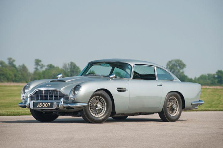 James Bond's Aston Martin DB8