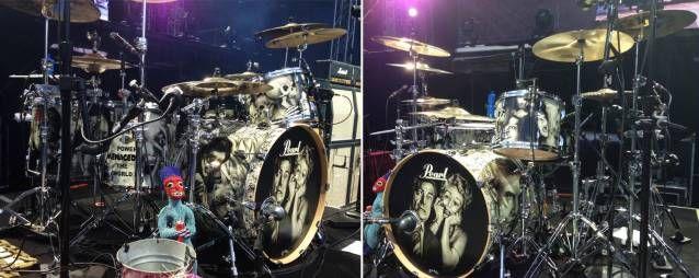 Aerosmith's Joey Kramer Unveils New Pearl Drum Kit - Blabbermouth.net