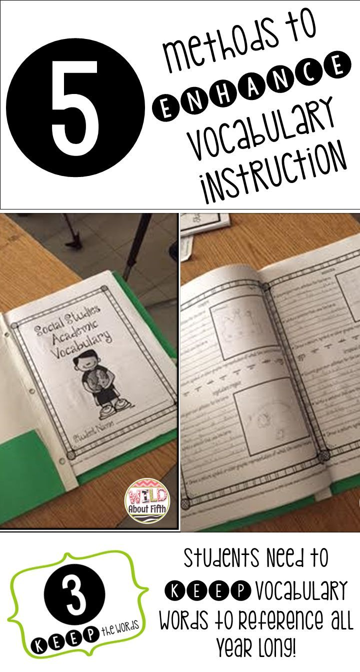 Blog Post - For vocabulary success, students need to KEEP new vocabulary words in a safe location, along with all the other words they are learning, so they can reference the new vocabulary words throughout the year. There are many creative ways your stu