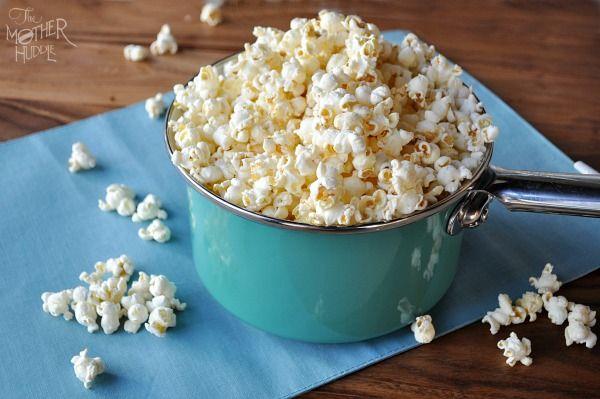 Hoe maak je zelf popcorn met kruiden?