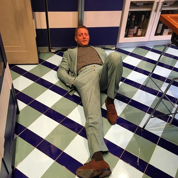 #LapoElkann Lapo Elkann: It's all about matching the right colors .