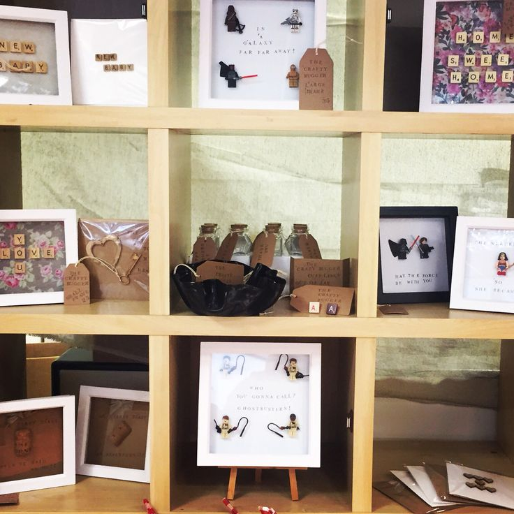 The crafty bugger - the display in the Maison Royale pop up shop- get in touch for bespoke frames