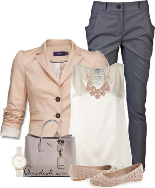 23 Great Looking Corporate And Casual Work Outfits For Spring