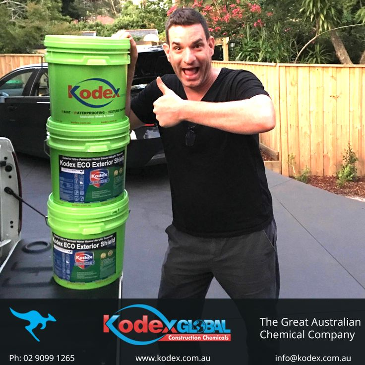 Another happy Kodex customer using our 2 in 1 self-priming internal/external paint. Find out more: http://www.kodex.com.au/products/paint/ #Paints #Primer #Coatings #Waterproofing #Construction #building #Kodexpaints