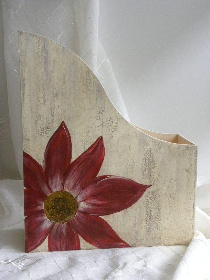 range documents ou magazines en bois : Meubles et rangements par si-belle