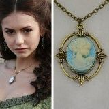 The Vampire Diaries Katherine Beauty Head Pendant Necklace-Get Yours For FREE+ SHIPPING!