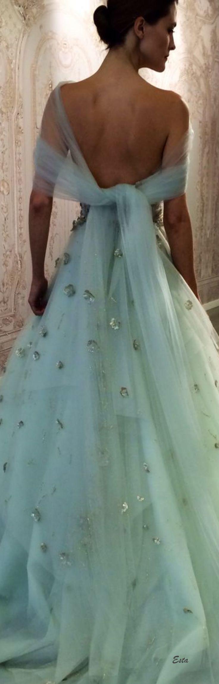 breathtaking aqua gown