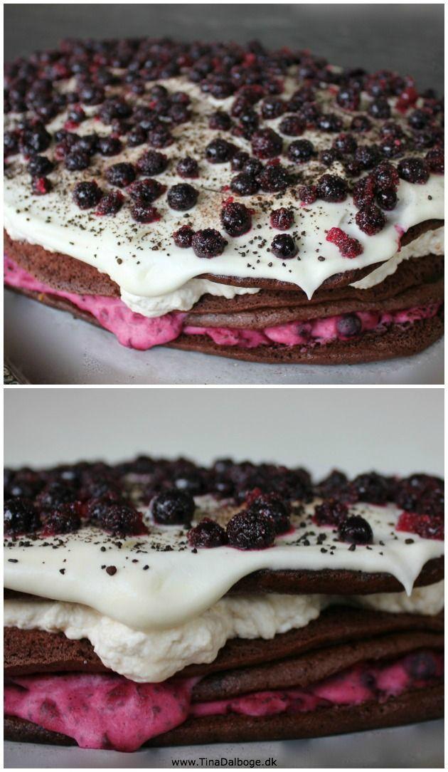 kage der også er velegnet til buffet og store fester