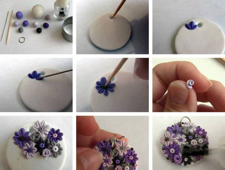 Craft made with Polymer clay