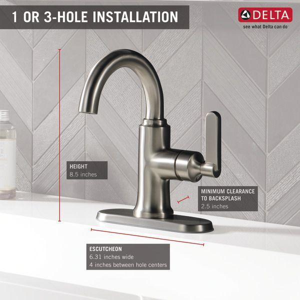 Single Handle Bathroom Faucet 15769LF