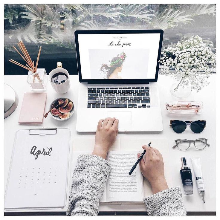 Today's desk space looked a little bit like this  March had been so manic…