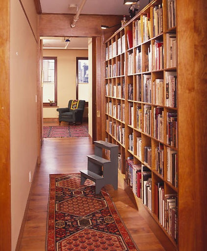 contemporary hall library.