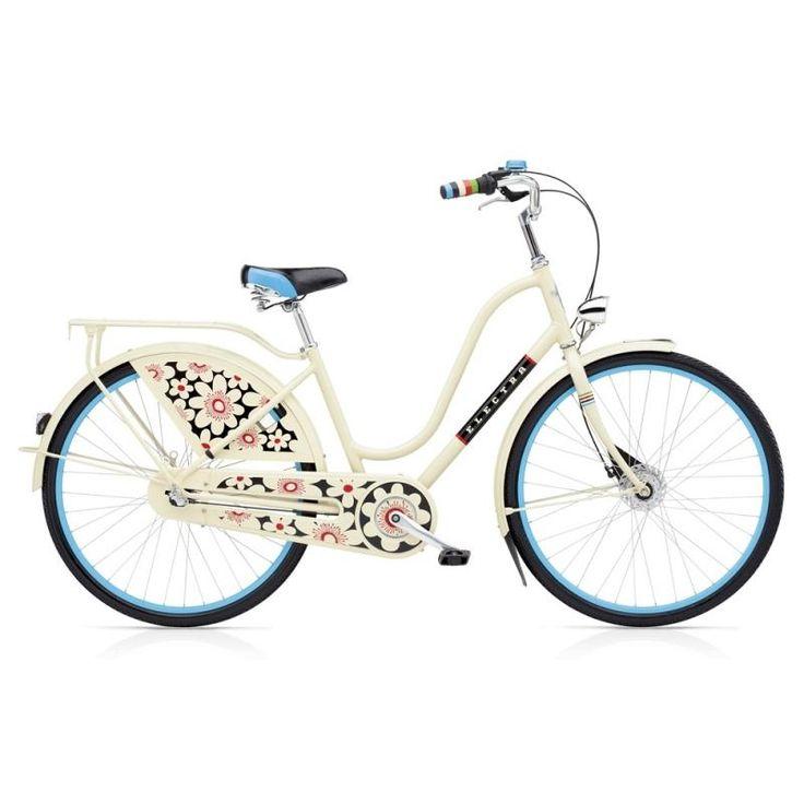 Electra Amsterdam Fashion 3i Bloom Cream - Дамски велосипед :: GiftLab