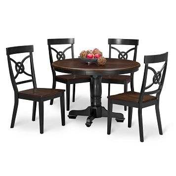 chelsea dining room 5 pc dinette value city furniture 39995 - Dining Room Sets Value City Furniture