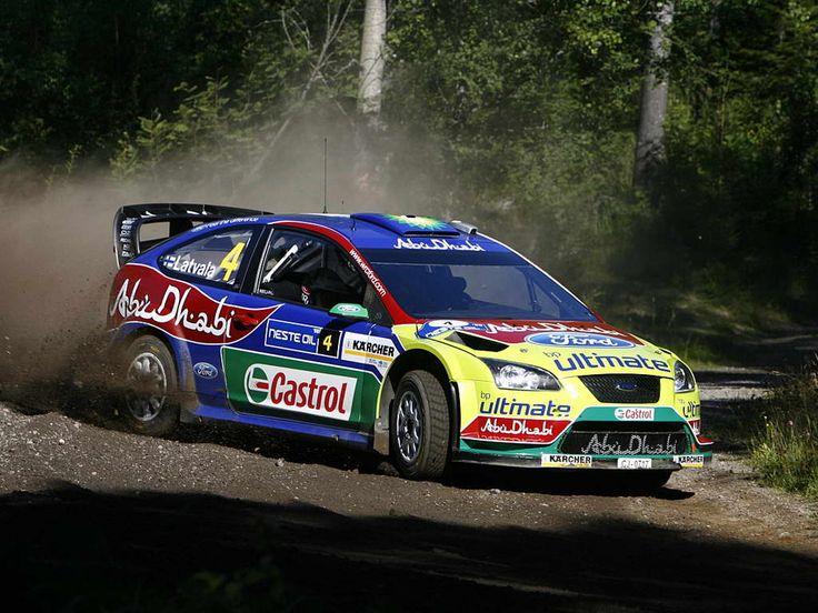 Ford Focus WRC rally car  Racing cars  Pinterest  Cars Blog