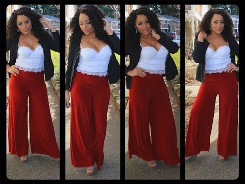How to Sew Wide Leg Pants with Mimi G Simplicity Pattern 8177 - YouTube