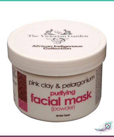 African Indigenous Pink Clay & Pelargonium Facial Mask (Powder) – R85.00 Absolute Simplicity