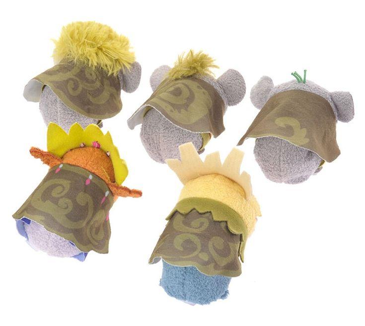 Frozen Troll Tsum Tsum Set Outfits
