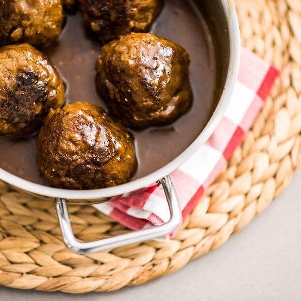 Het recept voor deze waanzinnig lekkere gehaktballen in Belgische biersaushellip