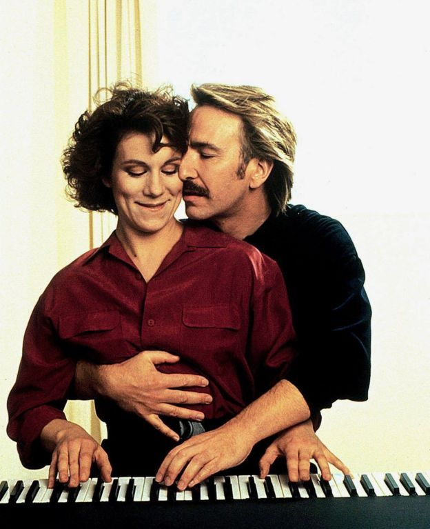 RIP Alan Rickman. You gave us such great roles over the years. Juliet Stevenson as Nina and Alan Rickman as Jamie in Truly, Madly, Deeply