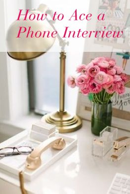Phone Interview Tips | The Preppy Post Grad