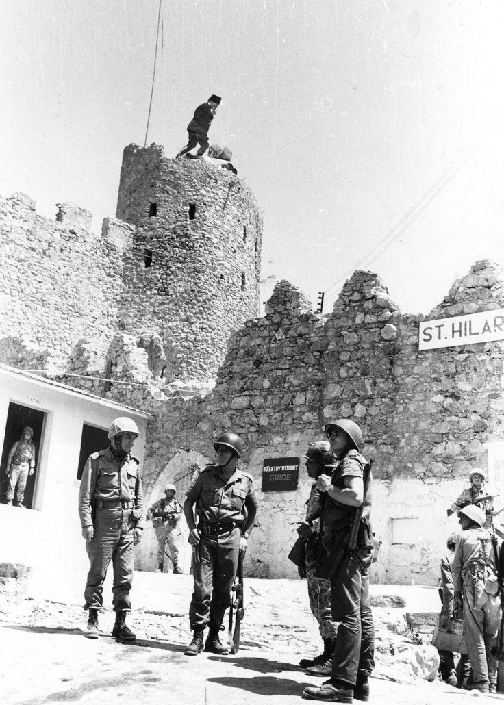 6'ncı Kolordu Komutanı Korgeneral Nurettin Ersin'in St.Hillarion'u Ziyareti203-A