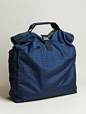 Lanvin Men: Oversized Printed Messenger Bag