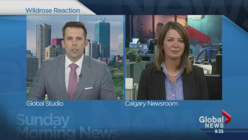 Watch #wrp Wildrose leader Danielle Smith weighs in on Jim Prentice's win Video Online #abpoli