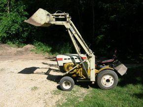 homemade loaders - Garden Tractor Implement Forum - GTtalk