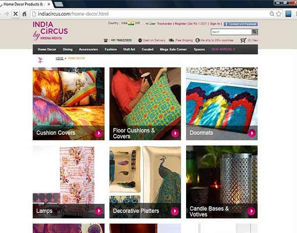 A Shopping Place Enriched With Contemporary Fusion of Traditional Indian Art  http://www.brideeveryday.com/shopping-place-enriched-contemporary-fusion-traditional-indian-art