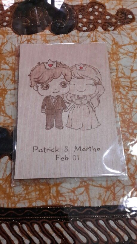 Design Board Card From Canada For Me and My Boyfriend <3
