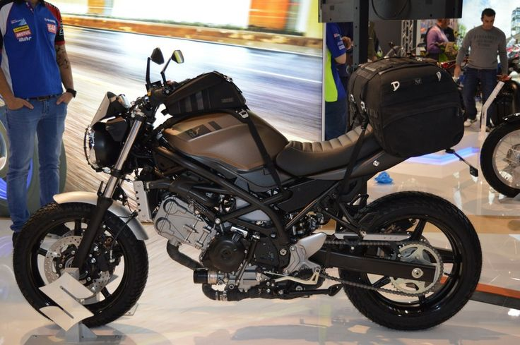suzuki presented at eicma a special scrambler edition of the new sv650 adorned with a host of. Black Bedroom Furniture Sets. Home Design Ideas